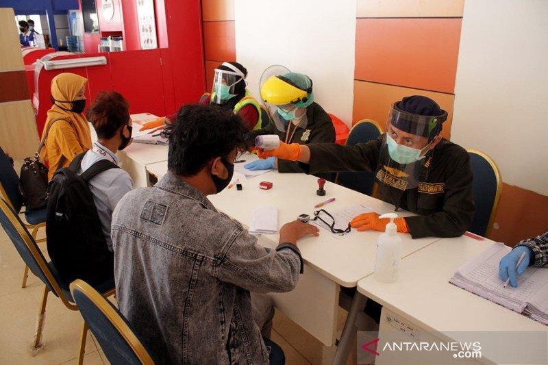 Protokol kesehatan di Bandara Sultan Hasanuddin diperketat