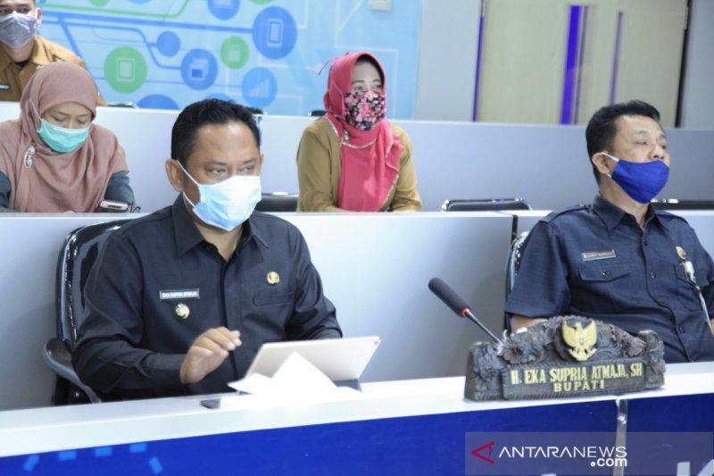 Kabupaten Bekasi tandatangani komitmen penanganan banjir dan longsor se-Jabodetabekpunjur