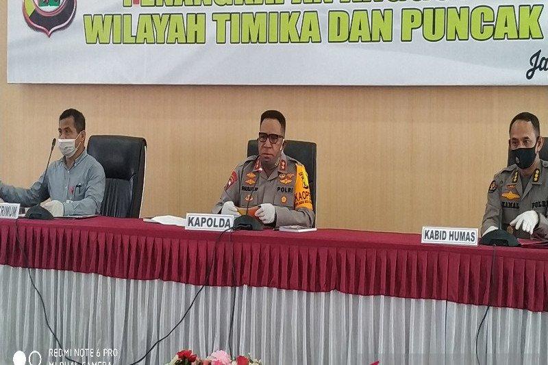 Kapolda Papua prihatin anggotanya ditabrak saat kawal pembatasan sosial COVID-19