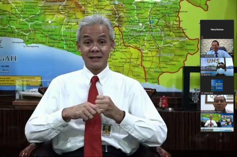 Gubernur Jateng minta mahasiswa ikut edukasi masyarakat
