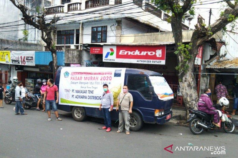 Disperindag gelar pasar murah hingga pelosok desa di Sulut