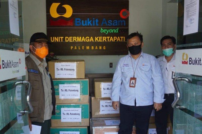 Bukit Asam salurkan bantuan alat kesehatan ke RSUD Siti Fatimah Palembang