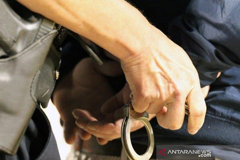 Pengaruh narkoba, tersangka F todongkan senapan ke satpam