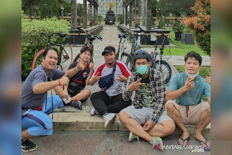 Pesepeda di Palangka Raya harapkan jalur khusus hingga toleransi pengguna kendaraan bermotor