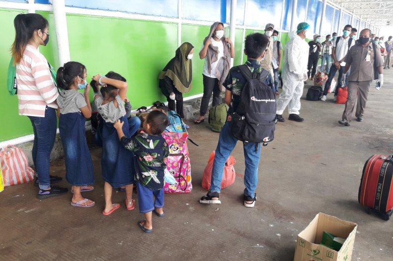 Ratusan WNI di Sabah dideportasi bertahap ke Nunukan