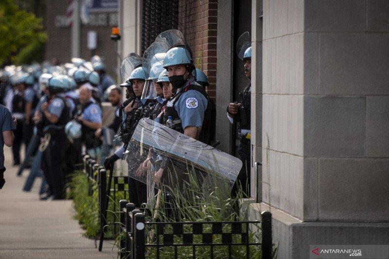 Penjarahan masal terjadi di Chicago, 100 orang lebih ditangkap