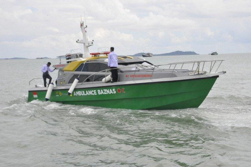 Baznas Karimun butuh Rp1,3 miliar operasikan ambulans laut