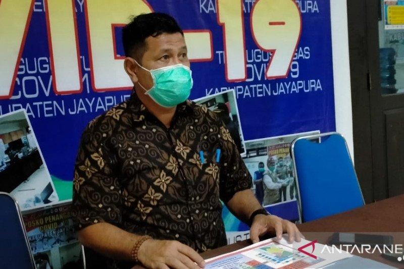Pasien positif COVID-19 di Kabupaten Jayapura bertambah jadi 73 orang