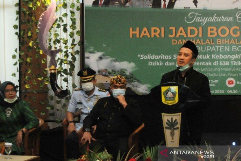 Pemkab Bogor gelar syukuran di 538 lokasi