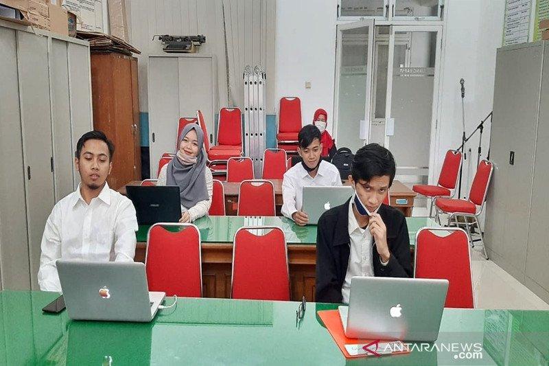 Mahasiswa Universitas Nanjing asal Boyolali ikuti ujian skripsi secara daring