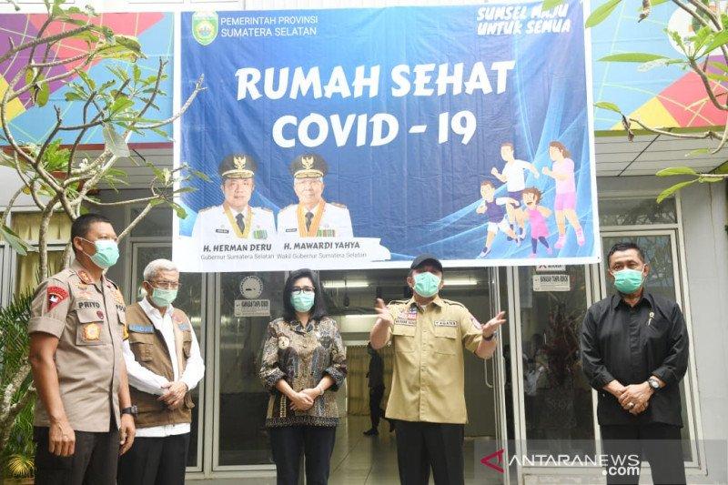 Pelayanan rumah sehat COVID-19 Jakabaring Palembang dimaksimalkan, tambah tiga tower isolasi