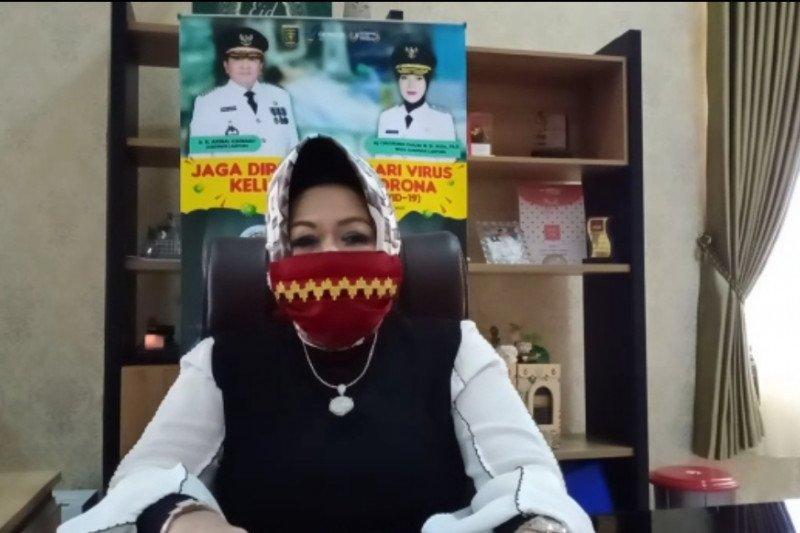 Dinkes Lampung sebut terkonfirmasi positif COVID-19 total 140 orang