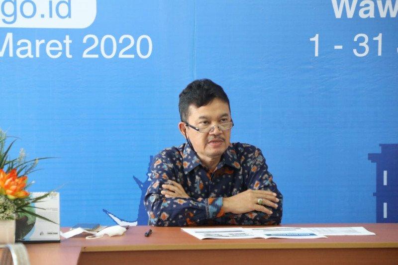 Harga gabah di tingkat petani maupun penggilingan di Lampung turun