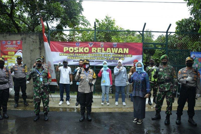 Warga RW 08 Tejo Agung bangun Kampung Tangguh Mandiri Penanggulangan COVID