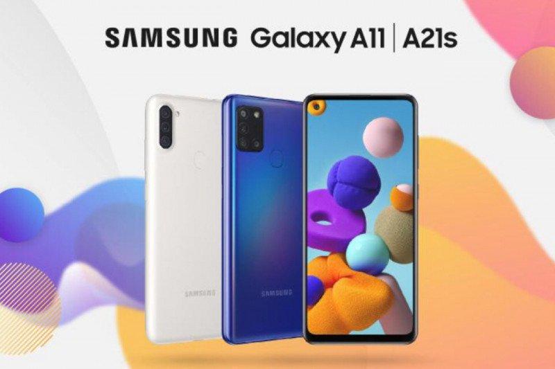 Samsung rilis ponsel Galaxy A11 dan Galaxy A21