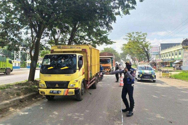 Titik cek poin di Palembang dikurangi selama PSBB tahap dua