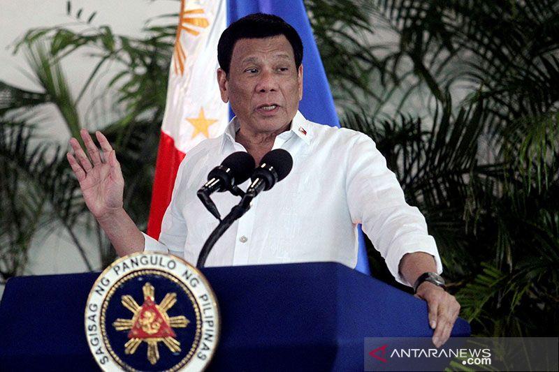 Presiden Duterte tegaskan tidak akan tarik kapal-kapal Filipina dari LCS