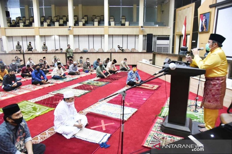 Gubernur Sumsel: Shalat Jumat harus terapkan protokol kesehatan