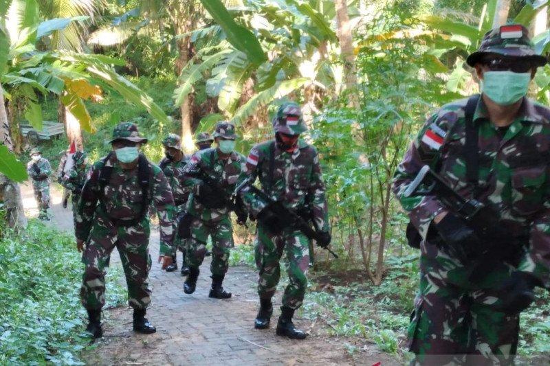 TNI di perbatasan laksanakan patroli di  Marore