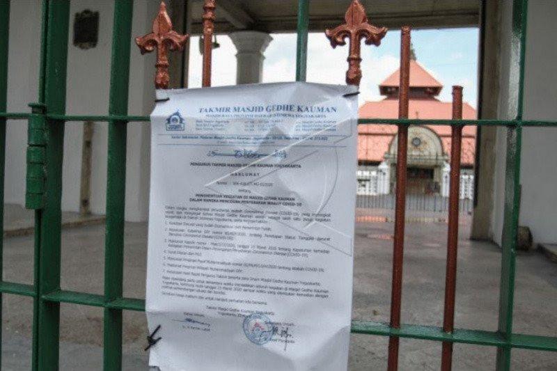 Masjid Gedhe Yogyakarta belum menggelar Shalat Jumat