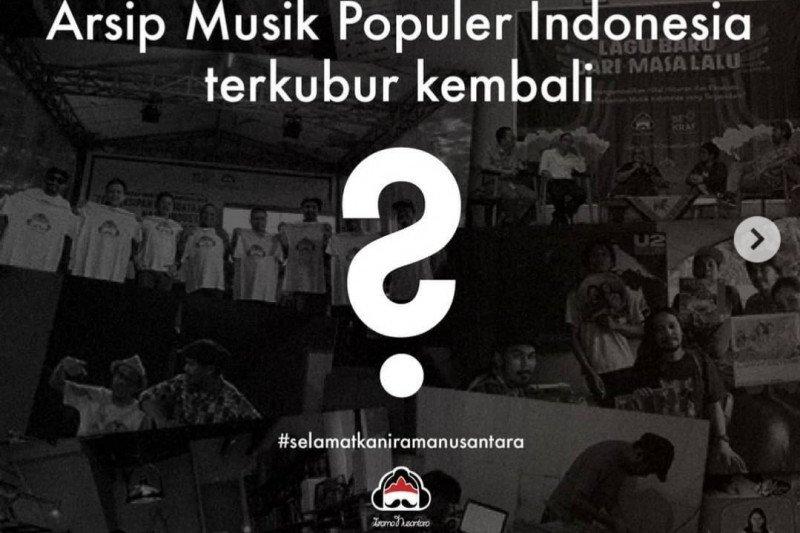 Selamatkan arsip lagu Indonesia, Irama Nusantara buka donasi