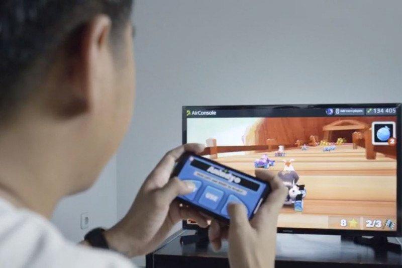 Kini Pelanggan XL HOME Bisa Main Gim di TV Cukup Pakai Smartphone!