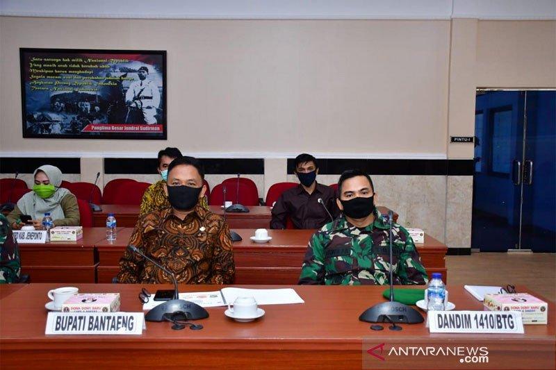 Bupati Bantaeng hadiri rapat kesiapan TMMD ke-108