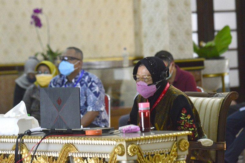 Wali Kota Surabaya rakor bahas penyelenggaraan Pilkada 2020