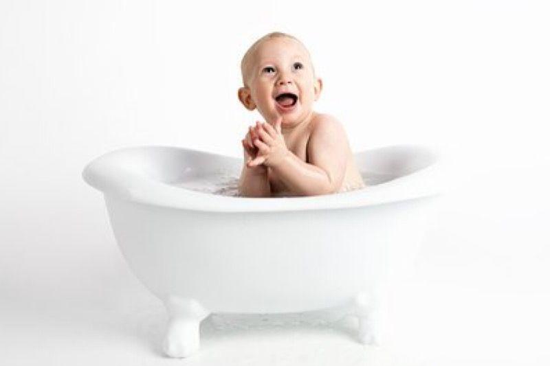 Waktu mandi bisa pengaruhi tumbuh kembang bayi