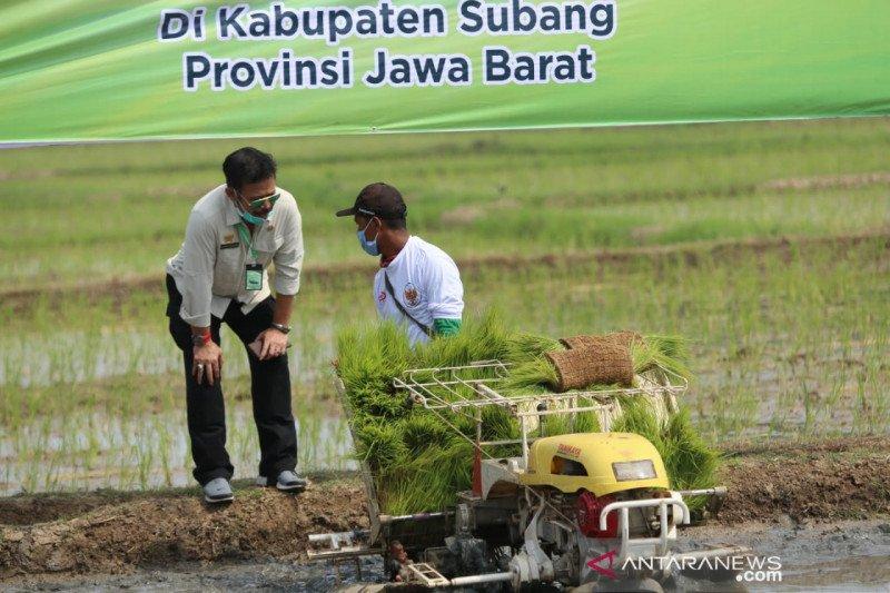Mentan Syahrul Yasin Limpo ajak petani Subang manfaatkan KUR