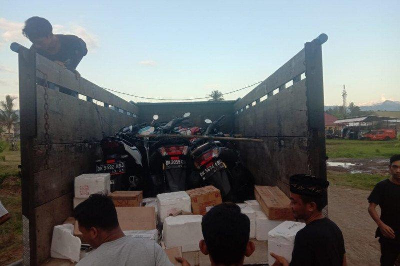 Tim gabungan Jatanras dan IntelMob Polres Dompu gagalkan penyelundupan sepeda motor tanpa surat dari Bali