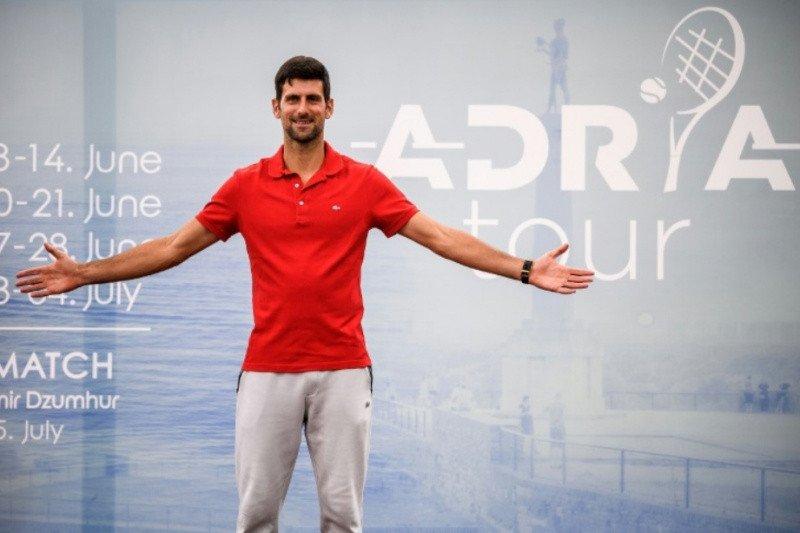 Djokovic bertanggung jawab atas turnamen Adria Tour