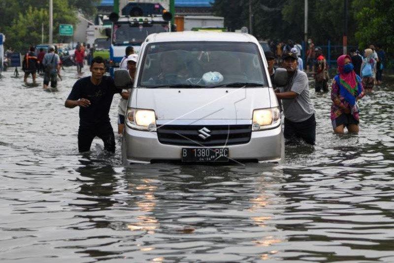 Banjir ROB Landa Jakarta