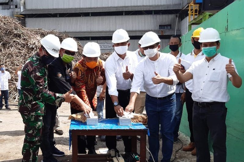 Pabrik gula Cinta Manis mulai giling tebu kejar produksi gula putih 104 ton