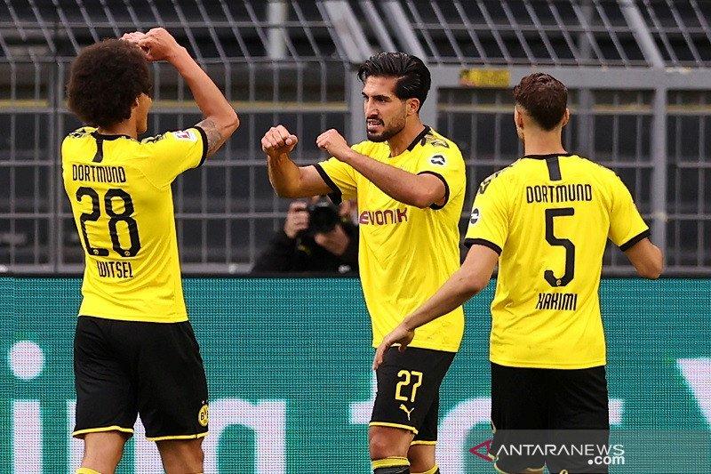 Gol tunggal Emre Can bawa Dortmund kalahkan Hertha