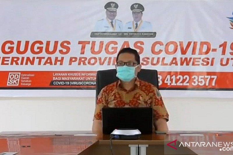 Pasien terkonfirmasi positif COVID-19 di Sulut capai 495 orang