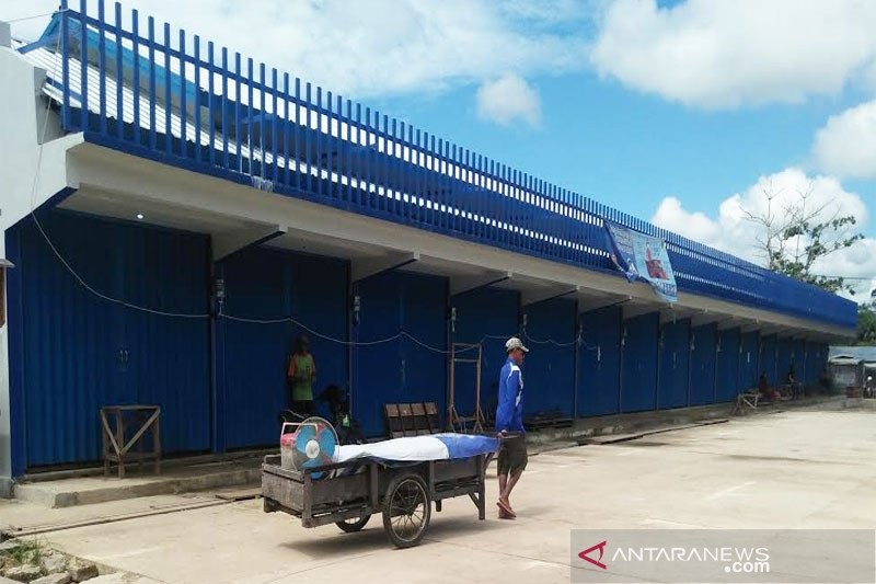 Pembangunan lanjutan Pasar Pendopo terkendala rasionalisasi anggaran