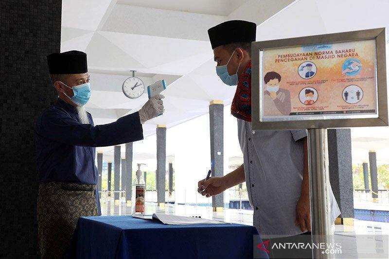 Malaysia umumkan  rekor terendah penularan harian COVID