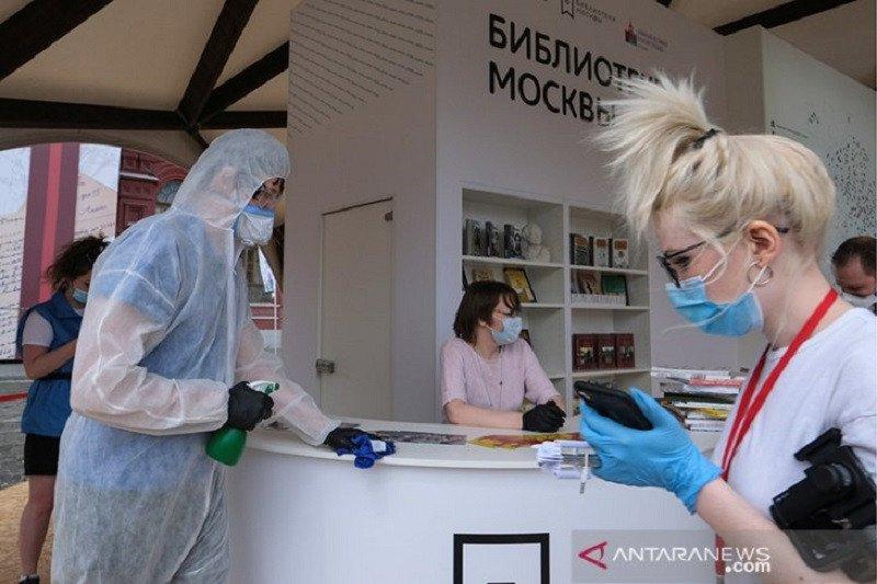 Kasus COVID-19 Rusia mencapai 520.129