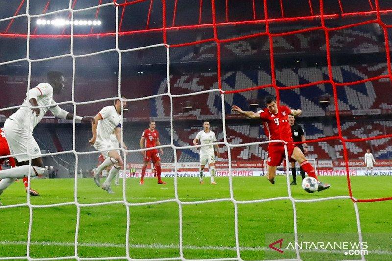Bayern kalahkan Eintracht, maju ke final Piala Jerman