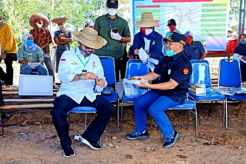 Menteri Pertanian RI : Wujudkan pertanian modern di Kalteng