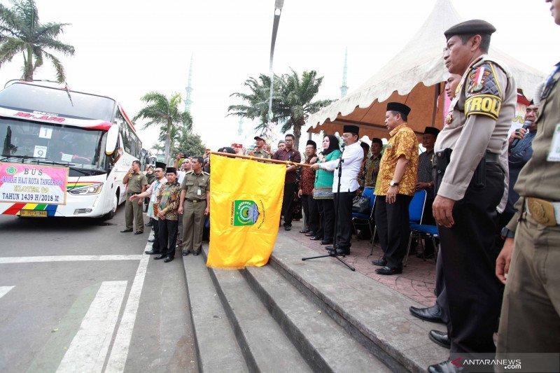 Jamaah calon haji Kota Tangerang tidak tarik dana haji meskipun batal berangkat