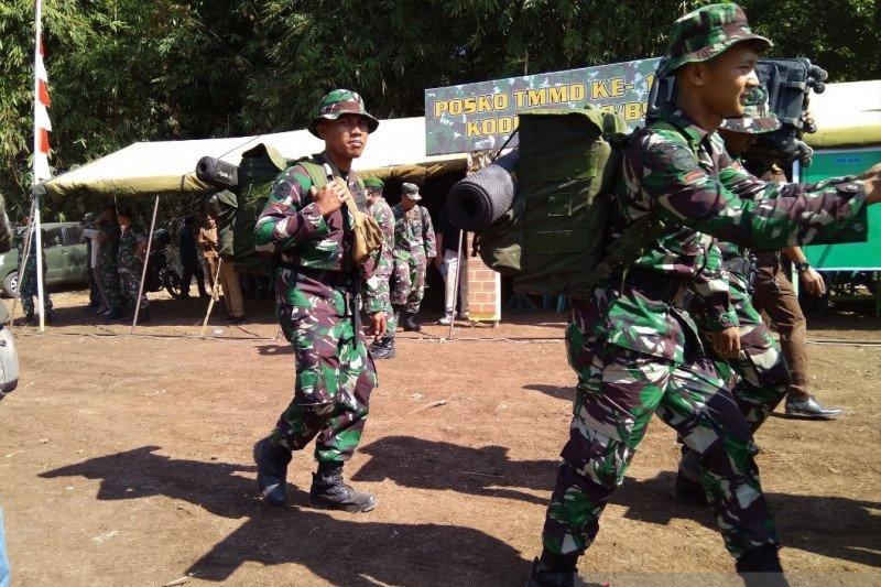 Kegiatan TMMD Kodam XIV/Hasanuddin bantu sosialisasikan Normal Baru
