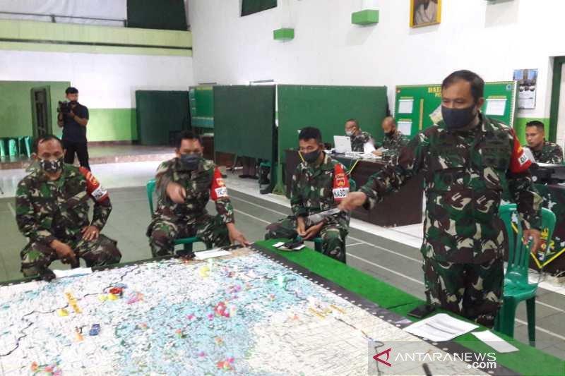 Latih kesiapan anggota, Kodim 0706/Temanggung gelar gladi penanganan bencana alam