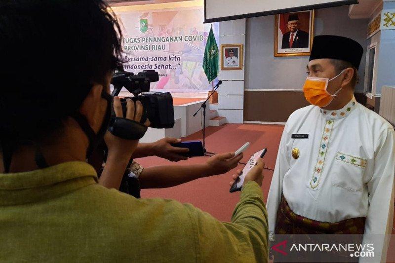Gubernur Riau minta para pemuka agama  tes usap COVID-19