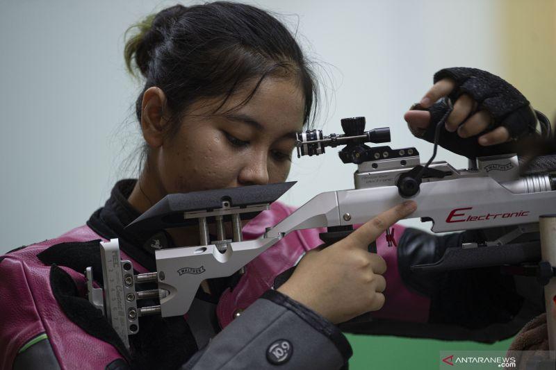 Vidya Rafika, satu-satunya penembak Indonesia pada Olimpiade Tokyo