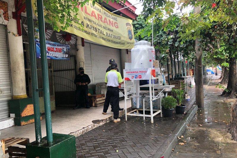 Yogyakarta melengkapi pasar tradisional dengan protokol kesehatan
