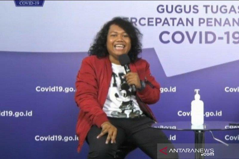 Komedian Marshel Widianto ajak masyarakat bersabar dan taati protokol kesehatan