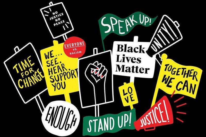 Starbucks desain kaus Black Lives Matter versinya sendiri