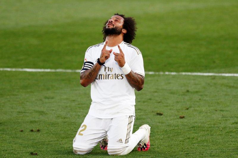 Real Madrid terancam kehilangan bek kiri Marcelo sampai akhir musim
